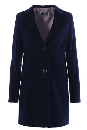 Cappotto in velluto ALBAROSA | 5032278 | CHIARALUTON2044