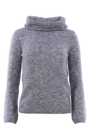 Mohair high neck