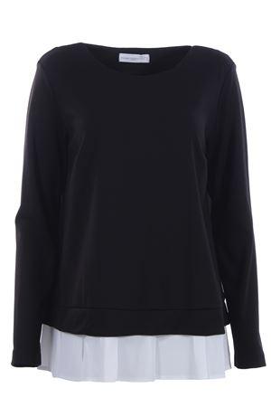 Crew neck sweatshirt effect ANNA SERRAVALLI | -161048383 | 478000