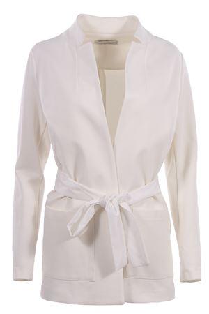 Long jacket with belt ANNA SERRAVALLI | 5032284 | 490003