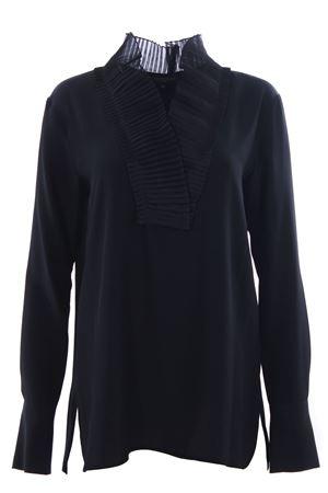 Silk tunic with ruffles ANTONELLI | 5032279 | BERTAZ1057T240C999