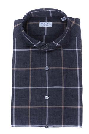 Check cotton shirt BAGUTTA | 5032279 | BSIENA08277480
