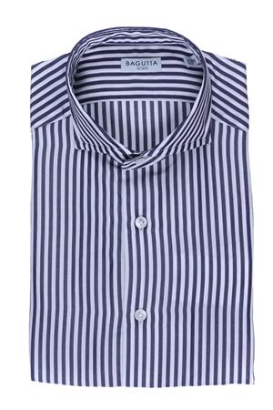 Camicia a righe in tencel BAGUTTA | 5032279 | BSIENA08353251