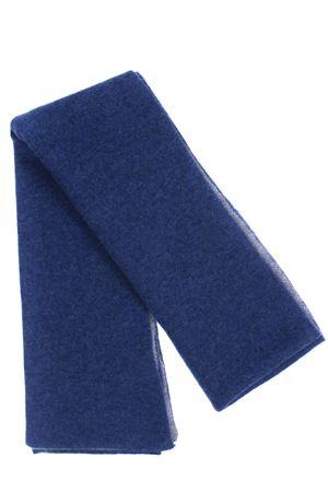 Scaldacollo bicolore in cashmere BOYLE | 5032273 | 155BLU MEL./GRIS1