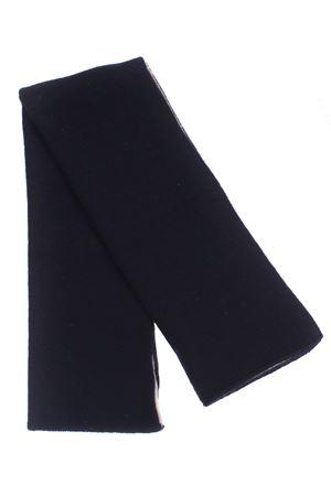 Scaldacollo bicolore in cashmere BOYLE | 5032273 | 98BSABBIA/NERO