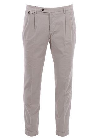 Pantalone easy in velluto millerighe stretch BRIGLIA | 5032272 | BG0248506503
