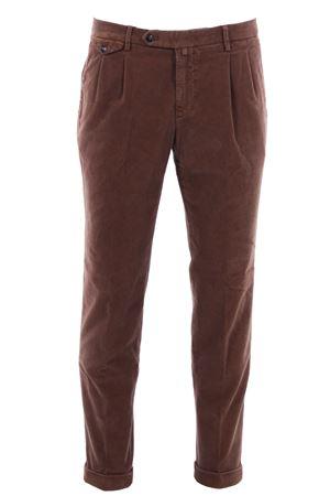 Pantalone easy in velluto millerighe stretch BRIGLIA | 5032272 | BG0248506573