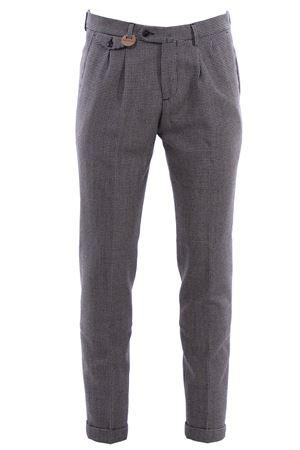 Pantalone archivio in lana piede de poule BRIGLIA | 5032272 | BG02W4811846