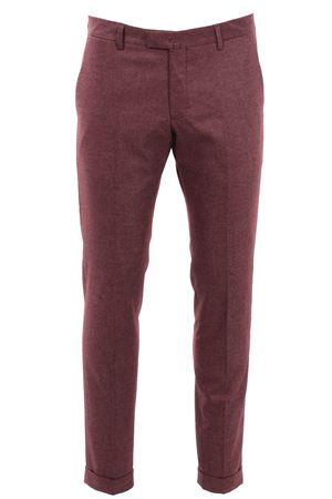 Pantalone in lana stretch effetto melange BRIGLIA | 5032272 | BG03S4713938