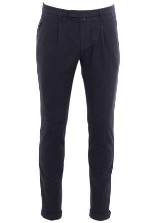 Pantalone in micro armatura di cotone stretch BRIGLIA | 5032272 | BG07482070