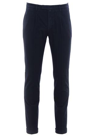 Pantalone in micro armatura di cotone stretch BRIGLIA | 5032272 | BG07482091