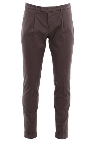 Pantalone in tricotina di cotone stretch BRIGLIA | 5032272 | BG07485363