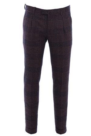 Pantalone sartoriale in flanella principe di galles BRIGLIA | 5032272 | BG07S4815011