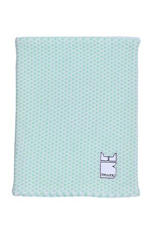 Merino wool neck warmer BULLISH | 5032273 | GORRO PATTERNBIANCO-VERDE