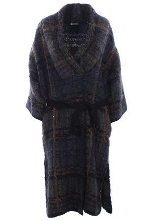 Cappotto lungo con cintura CUCINELLI | 5032278 | M4U320426CR990