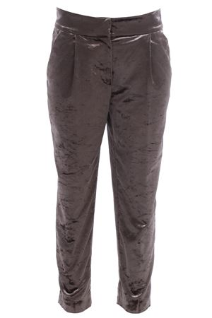 Pantaloni in velluto con pinces CUCINELLI | 5032272 | MA088P6685C7228