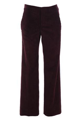 Pantaloni gamba larga in velluto CUCINELLI | 5032272 | MA107P6802C9155