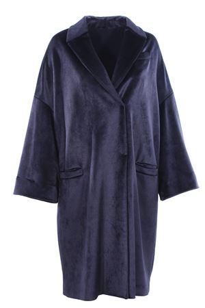 Cappotto monopetto in velluto CUCINELLI | 5032278 | MA5899185C7186