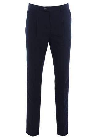 Pantalone in lana e cotone con pinces CUCINELLI | 5032272 | MD411E1450C6639