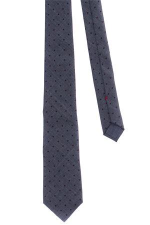 Cravatta in tela di lana a pois CUCINELLI | 5032289 | MG8890018CP886