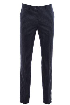 Pantalone gessato in flanella di lana CUCINELLI | 5032272 | ML421T1050C010