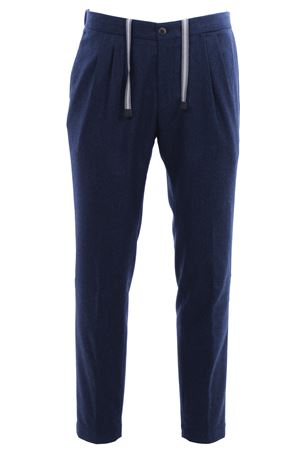 Pantalone sartoriale flanel color 130