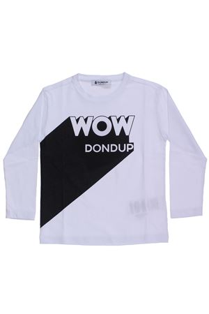 T-shirt girocollo in cotone DONDUP | 8 | DMTS28JE151SD1090561