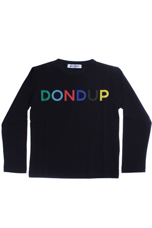 T-shirt in cotone DONDUP | 8 | DMTS28JE151SD1190614