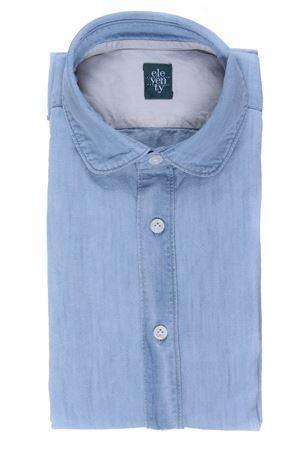 Camicia in denim collo stondato ELEVENTY | 5032279 | 979CA0085CAM2400908