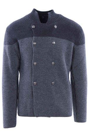 Giacca in maglia di lana a coste ELEVENTY | -161048383 | 979MA3130MAG2601513-14