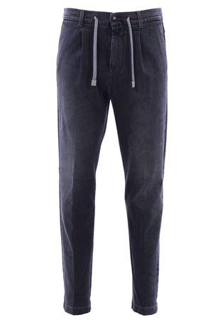 Pantalone jogging in denim ELEVENTY | 5032272 | 979PA0258PAN2100714
