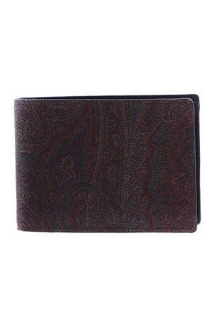 Classic paisley book wallet ETRO | 5032283 | 068888007601