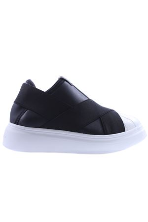 Slip-on edgegang FESSURA | 20000049 | KID101EDGEGANGBLACK-WHITE