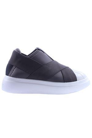 Slip-on edgegang FESSURA | 20000049 | KID101EDGEGANGWHITE-GREY