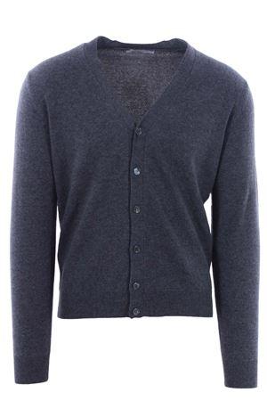Cardigan classic in lana e cashemere FILIPPO DE LAURENTIS | -161048383 | B23204030