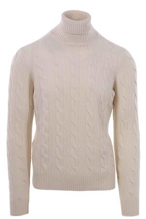 Collo alto treccia in lana e cashemere FILIPPO DE LAURENTIS | -161048383 | B23858001