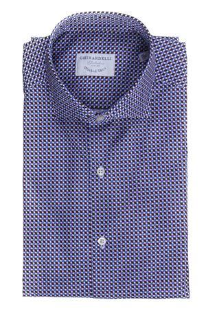 Camicia stampata in cotone lavato GHIRARDELLI | 5032279 | LP69B878N109402