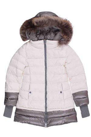 Giaccone in nylon con cappuccio pellccia HERNO | 5032282 | PI0043G120041000