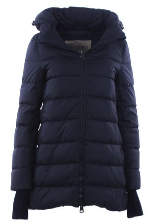 Asymmetrical down jacket with hood HERNO | 5032285 | PI0660D120049200