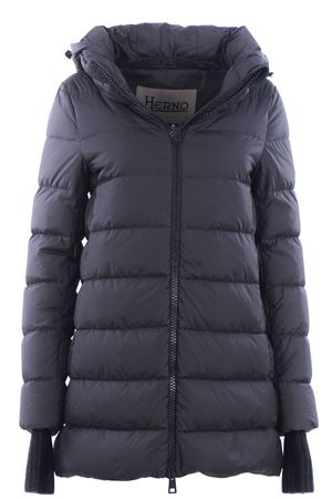 Asymmetrical down jacket with hood HERNO | 5032285 | PI0660D120049460