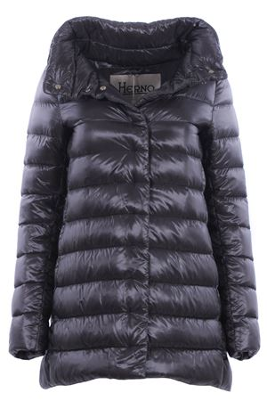 Asymmetrical down jacket with hood HERNO | 5032285 | PI505DIC120179480