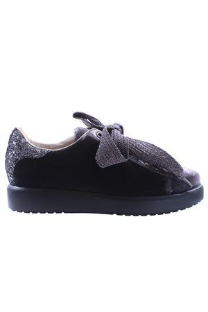 Velvet sneakers I8I | 20000049 | FEDR211VLLPIOMBO