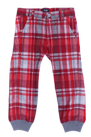 Pantalone a quadri IL GUFO | 5032272 | PL013W3034372