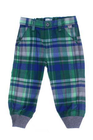 Pantalone a quadri IL GUFO | 5032272 | PL050W3034529