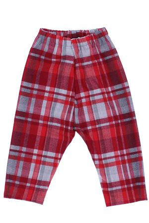 Pantalone a quadri IL GUFO | 5032272 | PL254W3034372