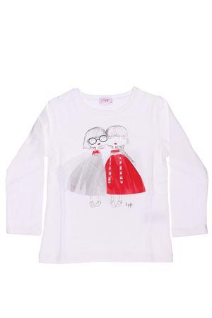 T-shirt stampa bimbe con tulle IL GUFO | 8 | TA162M00111037