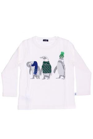 T-shirt stampa pinguini con applicazioni IL GUFO | 8 | TA165M00111057