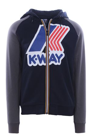 Felpa full zip le vrai gerrit K-WAY | -161048383 | K009MZ0965