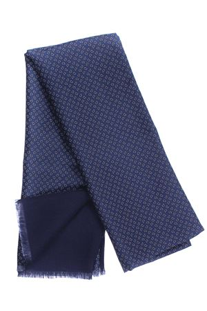 Sciarpa doppiata seta/lana disegno cravatta LA FERRIERE | 5032273 | SDPARIGI30743