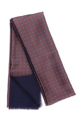 Sciarpa doppiata seta/lana disegno cravatta LA FERRIERE | 5032273 | SDPARIGI30972